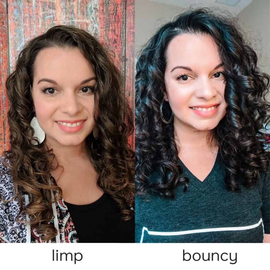 curly girl method product differences