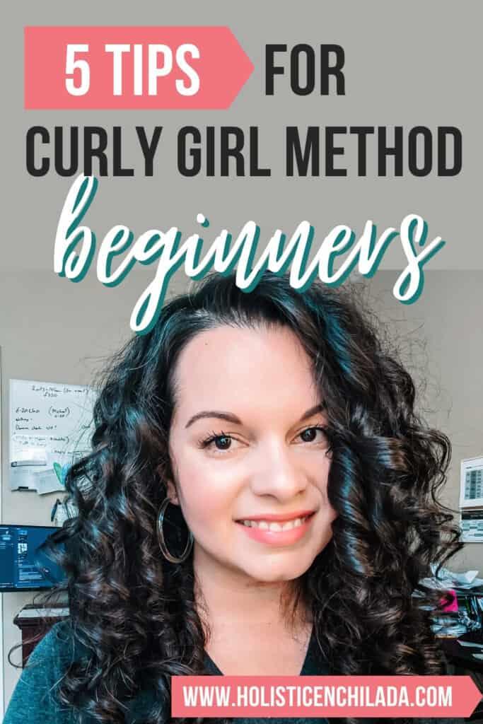tips for curly girl method beginners