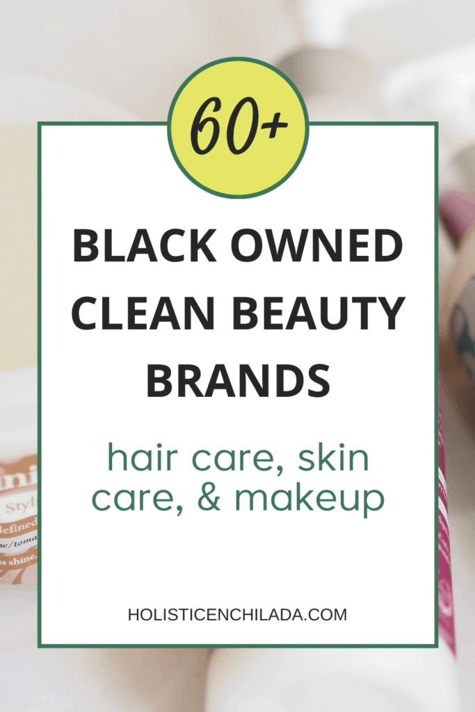 Black owned clean beauty brands