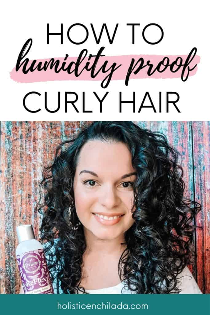 Glycerin free styling products to humidity-proof curly hair