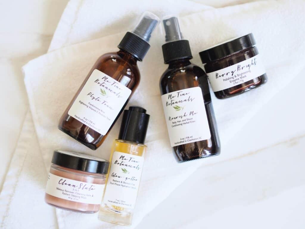 Me Time Botanicals affordable nontoxic skincare