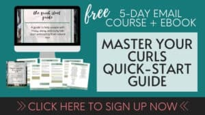 curly girl method beginner course