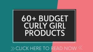 curly girl approved products list
