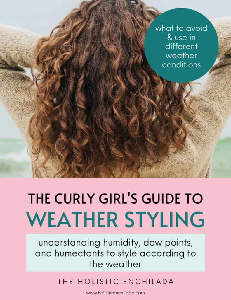The Curly girl's guide to weather styling curly girl method resources