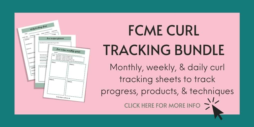 curl tracking printable