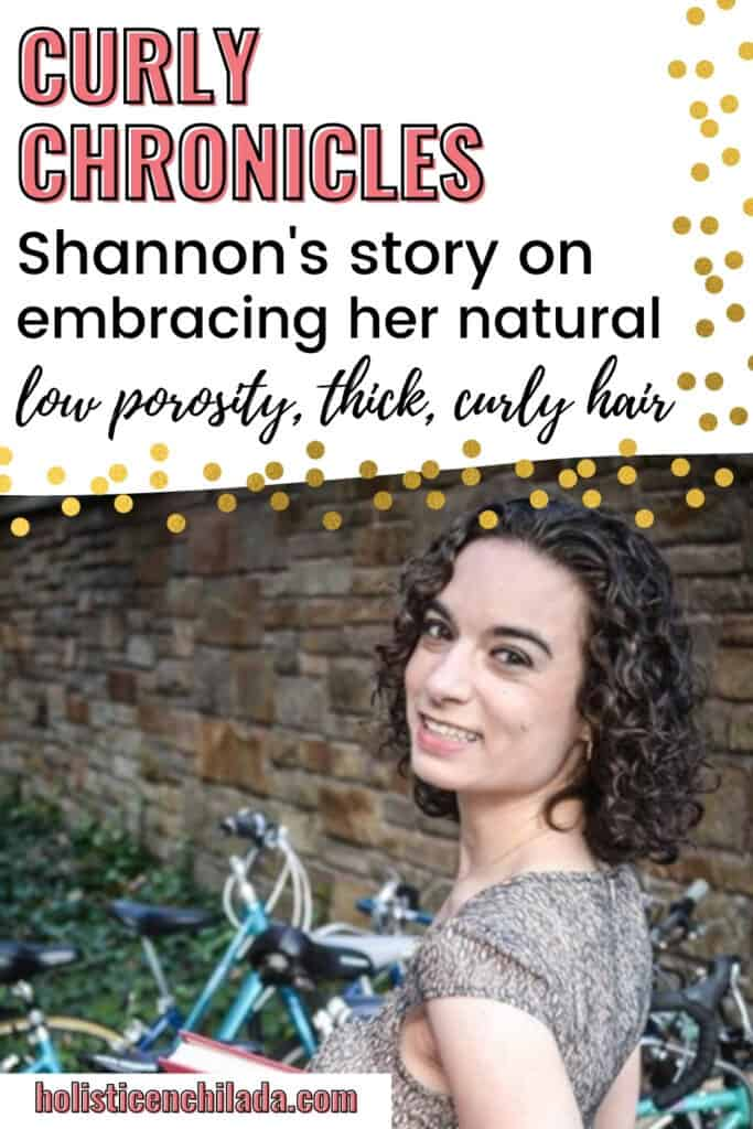 Curly chronicles Shannon discusses her naturally curly, thick, low porosity hair and how 1 haircut changed her life.