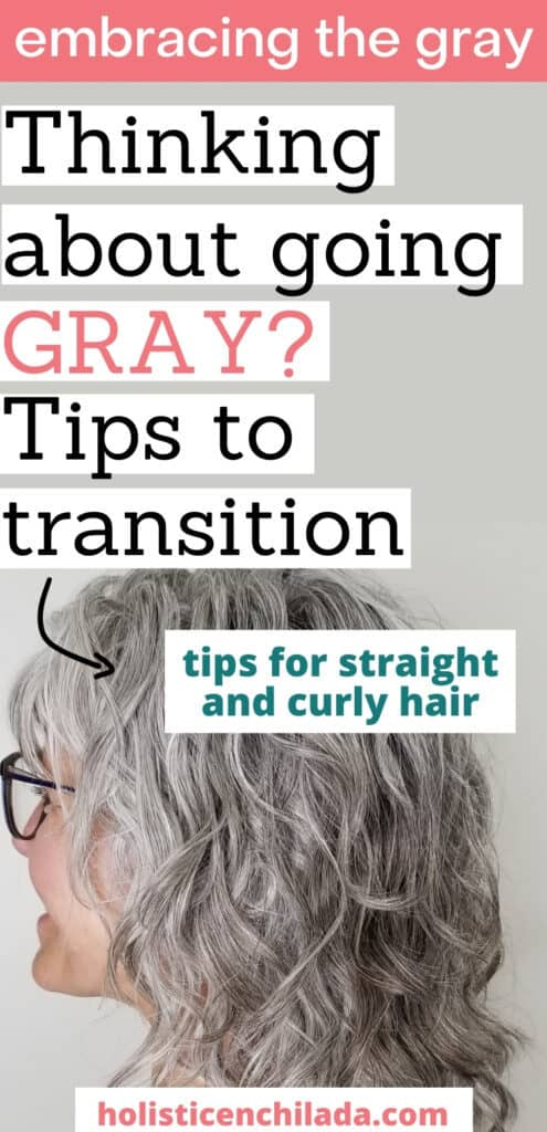 grey curly hair tips for transition