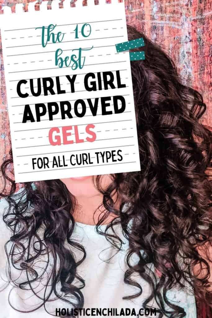 The best curly girl method approved gels for all curly types pin