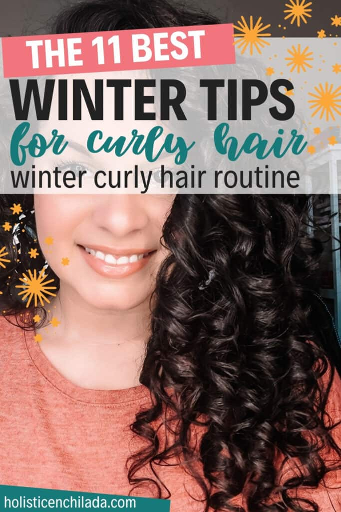 the 11 best winter tips for curly hair winter curly hair routine pin image