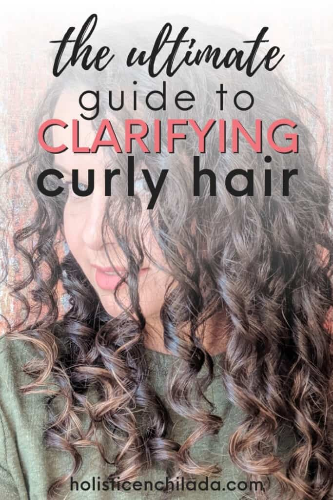 guide to clarifying curly hair