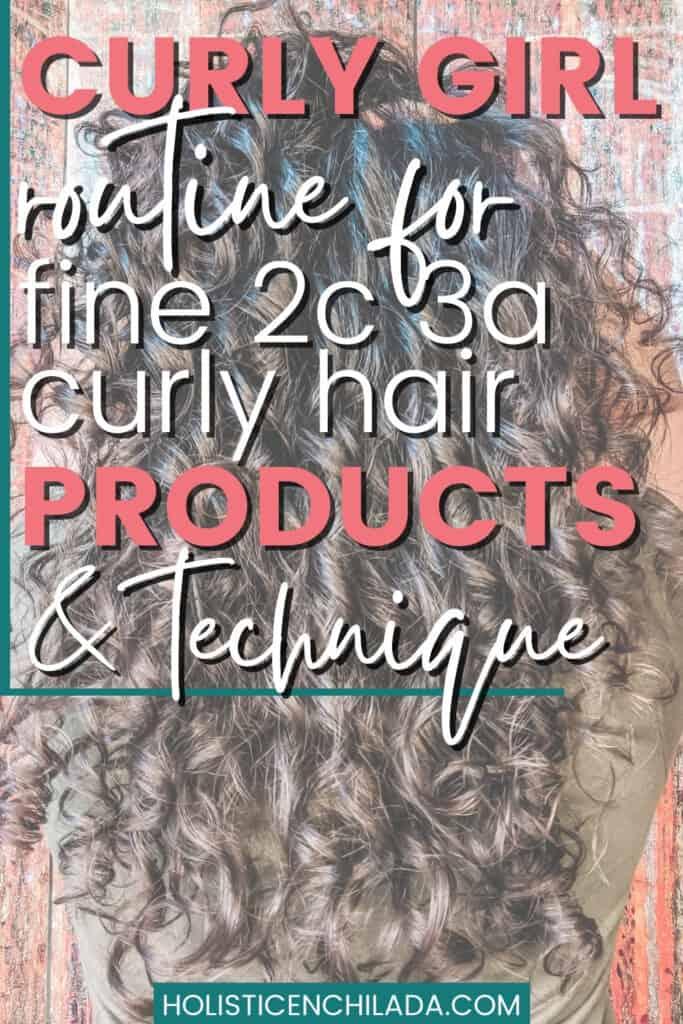 curly hair volume tutorial