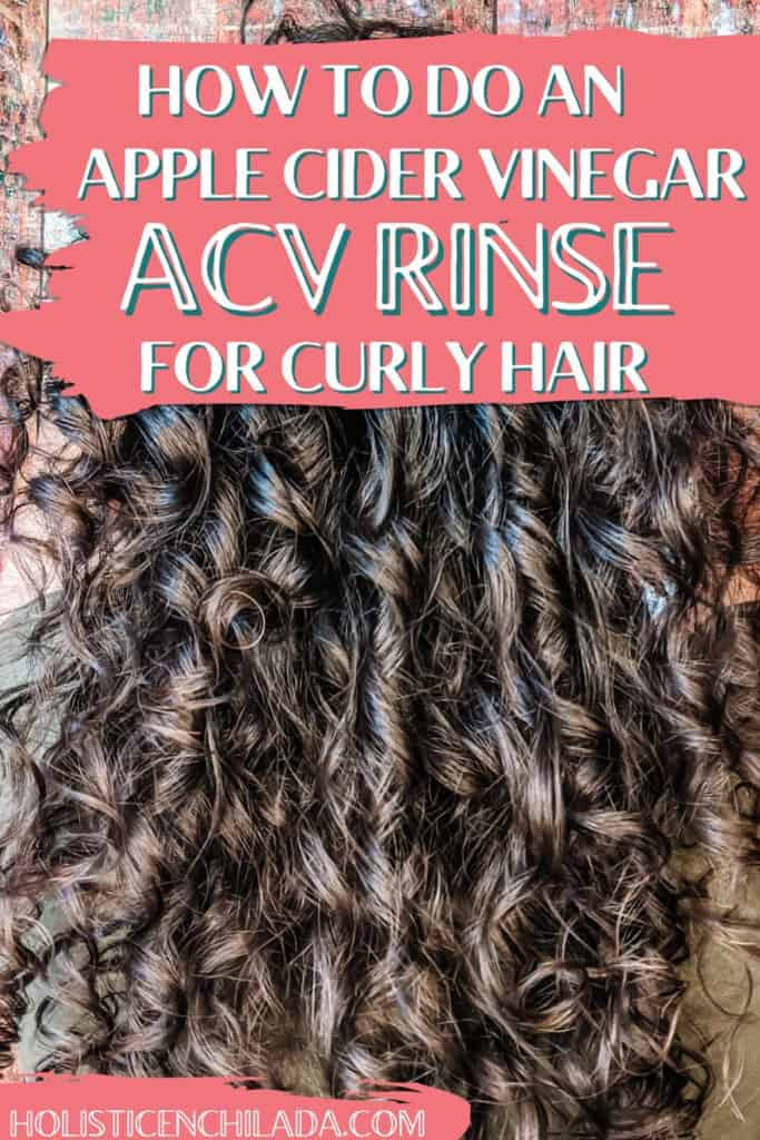 how to do an acv rinse for curly hair pin