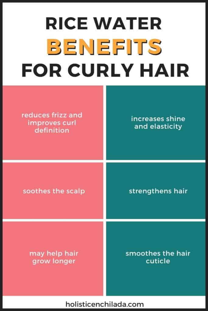 RICE-WATER-FOR-CURLY-HAIR BENEFITS