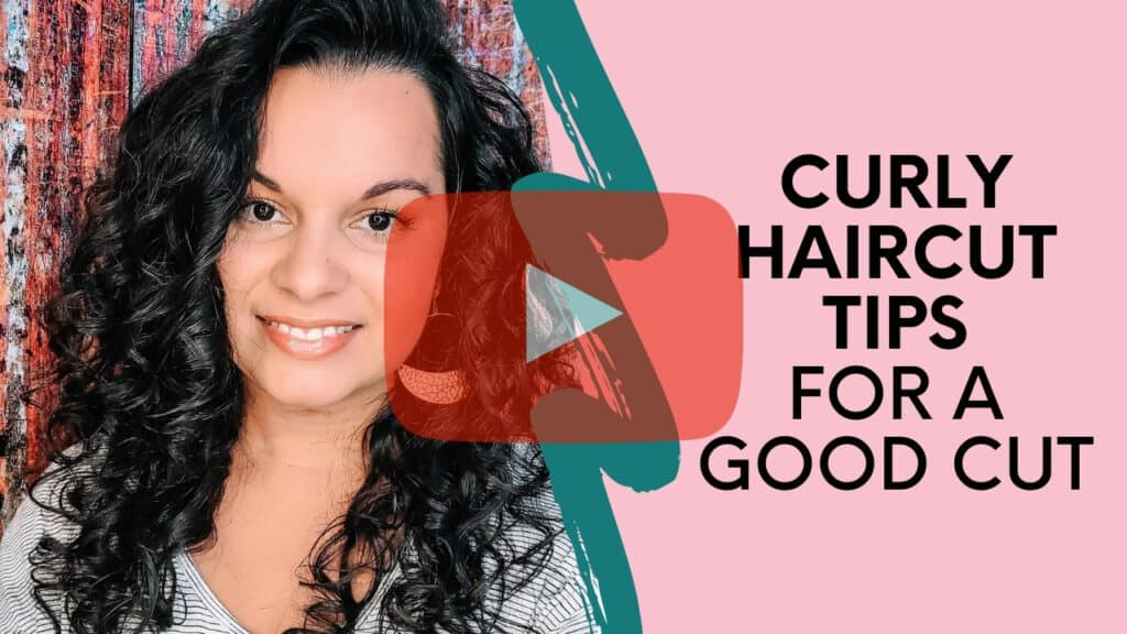 curly haircut tips video thumbnail