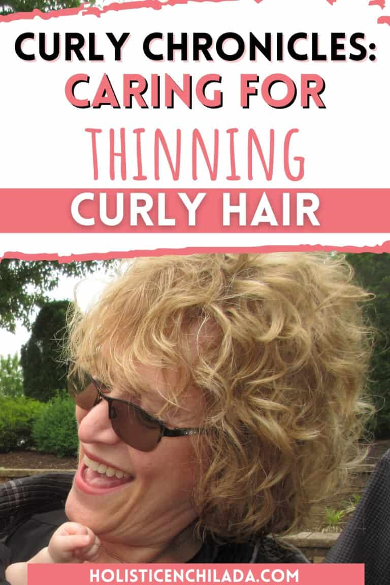 Curly Chronicles: How SPK Takes Care of Her Thinning Curly Hair