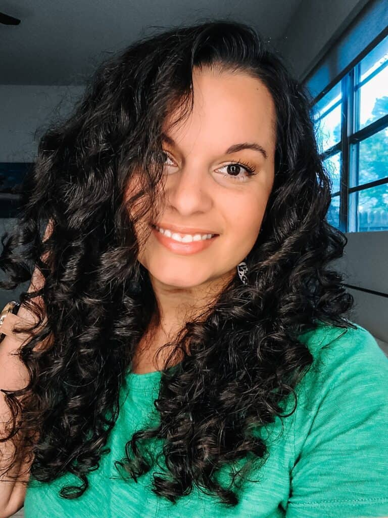 Behairful brush for fine curly hair
