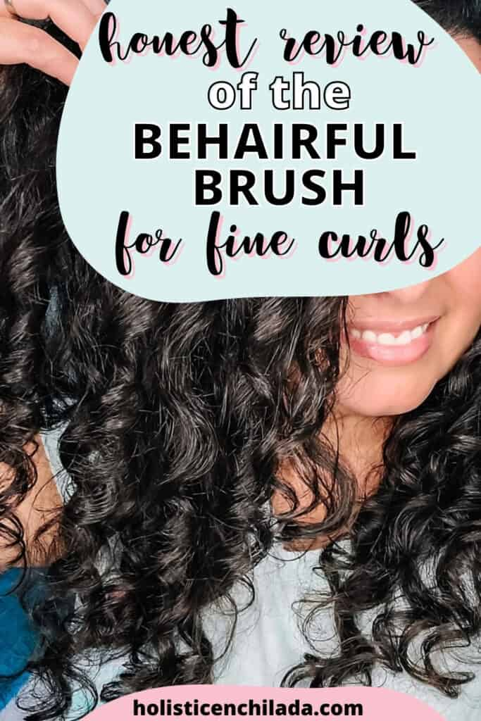behairful brush review for fine curly hair