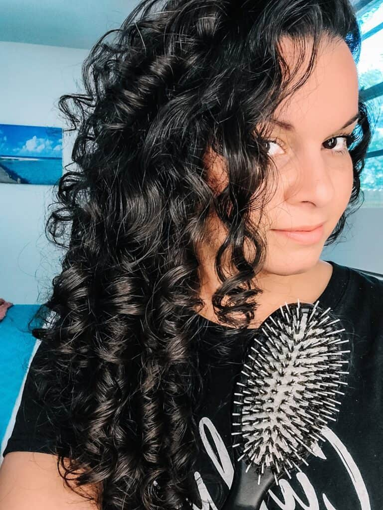 A Review of the Behairful Brush For Fine Curly Hair