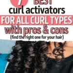 best curl activators for all curl types pin image